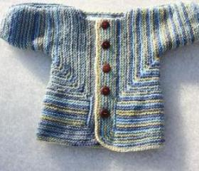 Ready to ship/Soft- New born Cardigan cutest five Buttons on front-SIZE 0 to 6 months