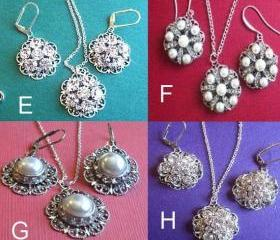 Bridesmaid Jewelry Sets, 8 choices, Mutiple Order Discounts