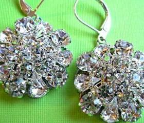 "Wedding Earrings, ""Vintage Romance"" Collection"
