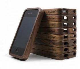 Retro Walnut Wood iPhone5 Case