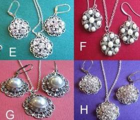 Wedding jewelry Sets, 8 choices