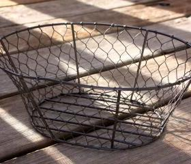 Vintage Inspired Wire Basket