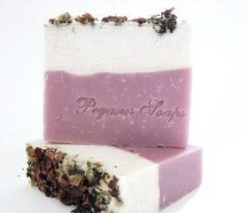 CLEARANCE Fresh Cut Roses Cold Process Soap