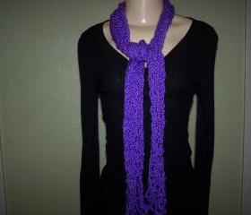 Purple Scarf/Neck Warmer/Cowl