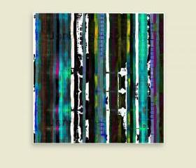 'Stripes1' an abstract art print