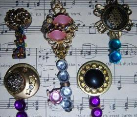 Set #3Vintage Decorated Keys