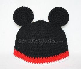Mickey Mouse beanie - adult