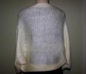 Ivory Shrug/bolero