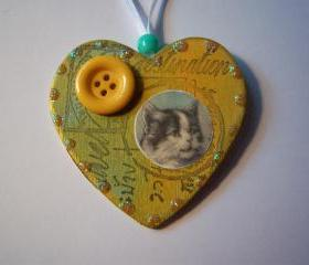 Cute Cat Ornament #16