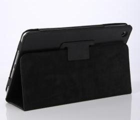 Java Sheep Kick Stand Leather Case for iPad Mini