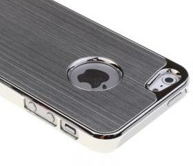 Metal Aluminum Chrome Hard Case For iPhone 5