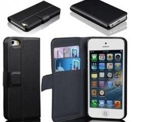 Card Holder Leather cover Case for Apple iPhone 5