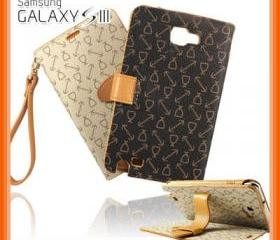 Ladies Wallet Leather Case for Samsung Galaxy S3