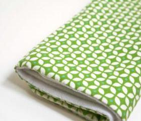 soft baby blanket * green
