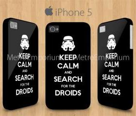 Keep Calm Droids Jolly Trooper iPhone 5 Case Star Wars