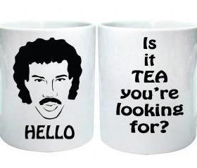 Hello! Is it me you're looking for Ceramic Mug