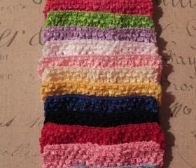 Baby Crochet Headband - Available in 14 colors