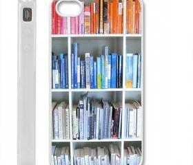 new Bookshelf case cover for iPhone 4 / 4s white