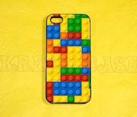 iPhone 5 Case, Lego Brick print iPhone 5 Case for iPhone 5