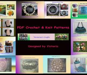 Choose ANY 3 SINGLE PATTERNS from more than 40 patterns