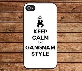 iphone 4 case,iphone 4s case,apple iphone case--Gangnam style,in plastic or silicone case
