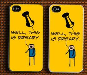 Funny is Dreary Custom iPhone 4/4S Case Cover