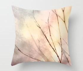 Winter Art Throw Pillow