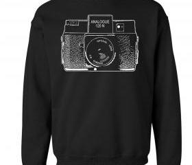 Holga Camera Crew Neck Sweat Shirt