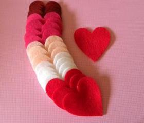 24 Hearts 2 inch