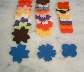 F105 --- 30 flowers in 3 shapes