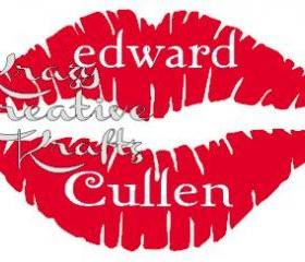 edward cullen lips decal