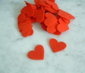 25 Hearts 1 inch