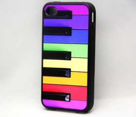 Stylish Piano Keys iPhone 4 and iPhone 4S Rubber Case