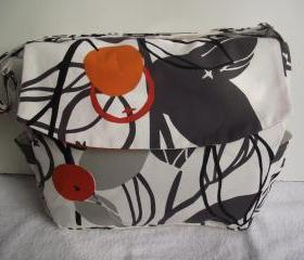 Diaper bag, cross body strap,washable