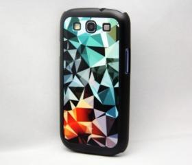 Glossy Pattern Galaxy S3 Hard Cover Case