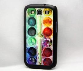 Artist Palette Set Galaxy S3 Hard Cover Case
