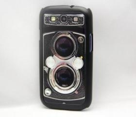Vintage Camera Design Galaxy S3 Hard Cover Case