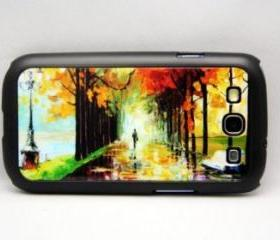 Landscape Painting Style Galaxy S3 Hard Cover Case