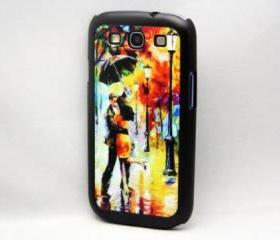 Vintage Lover printing Galaxy S3 Hard Cover Case