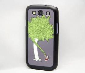 Vintage Giving Tree Galaxy S3 Hard Cover Case