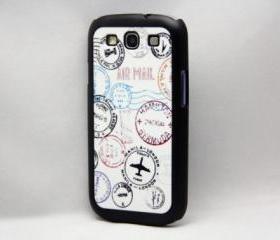Travel Seal Pattern Galaxy S3 Hard Cover Case