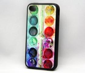 Artist Palette Set iPhone 4 and iPhone 4S Rubber Case