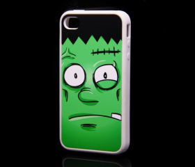 Halloween Frankenstein iPhone 4 and iPhone 4S Rubber Case