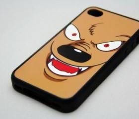 Halloween Wolf iPhone 4 and iPhone 4S Rubber Case