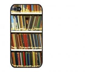 Bookshelf Design iPhone 4 and iPhone 4S Rubber Case