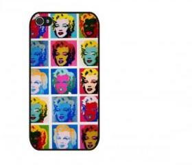 Color Malian Monroe iPhone 4 and iPhone 4S Rubber Case