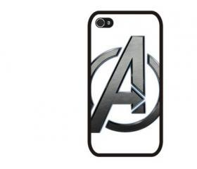 The Avengers Symbol iPhone 4 and iPhone 4S Rubber Case