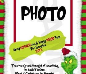The Grinch Christmas Photo Greeting Card