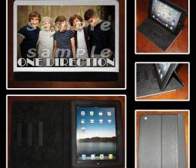 One Direction Leather iPad Case - Fits iPad 2, 3 and 4