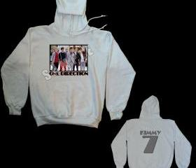 ONE DIRECTION #9 HOODED SWEATSHIRT PERSONALIZED
